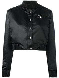 укороченная куртка-бомбер Versus