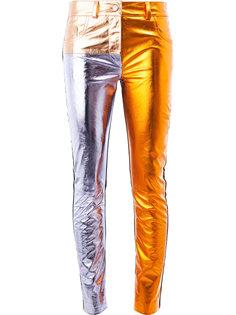брюки скинни лоскутного кроя Haider Ackermann