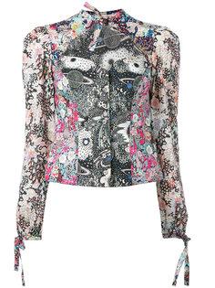 блузка с узором Liberty Olympia Le-Tan