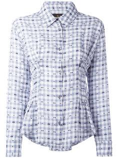 рубашка со складками и вышивкой Vivienne Westwood Anglomania