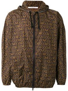 легкая куртка с принтом-логотипом Givenchy