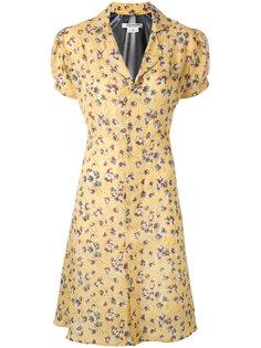 платье с растительным принтом Junya Watanabe Comme Des Garçons