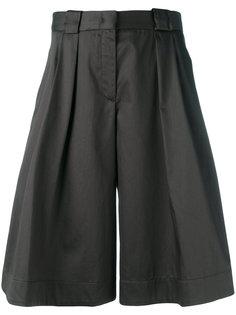 широкие шорты Jil Sander Navy