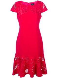 платье фиштейл с вышивкой Marchesa Notte