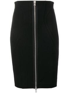 облегающая юбка на молнии спереди Givenchy