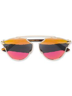солнцезащитные очки с разноцветными стеклами Dior Eyewear