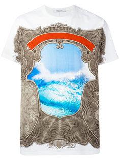 футболка с барочным принтом Givenchy