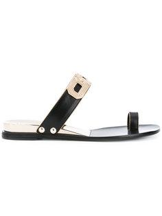 сандалии с цепочкой Casadei