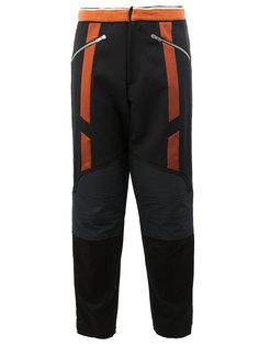 спортивные брюки с контрастными панелями Wales Bonner