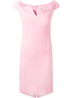 облегающее платье с открытыми плечами Capucci