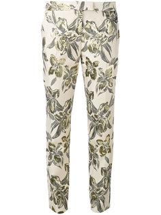 узкие брюки с принтом  Christian Pellizzari