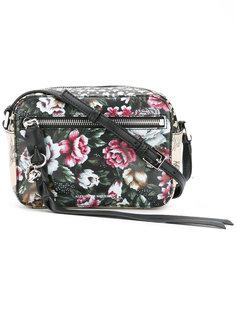 сумка с цветочным принтом  Alexander McQueen