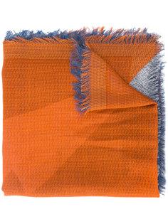 шарф с необработанными краями Fendi