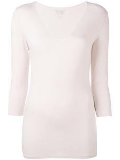 облегающая блузка с рукавами три четверти Majestic Filatures