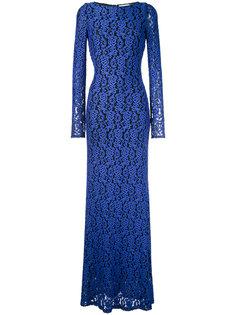 расклешенное длинное платье Maryanna  Alice+Olivia