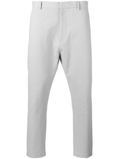 брюки с заниженным шаговым швом  Jil Sander