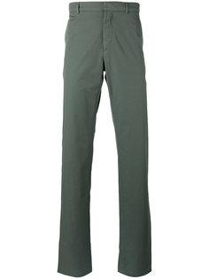 расклешенные брюки чинос  Jil Sander