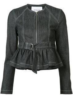 джинсовая куртка с ремнем Derek Lam 10 Crosby