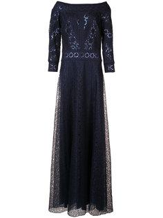 вечернее платье с пайетками Tadashi Shoji