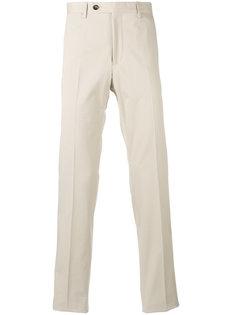 брюки чинос кроя слим Salvatore Ferragamo