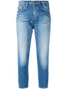 узкие укороченные джинсы Jil Sander