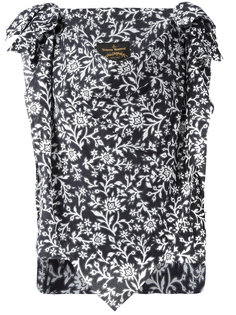 блузка с цветочным узором Vivienne Westwood Anglomania
