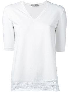 футболка с кружевным краем  D.Exterior