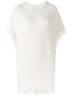 топ Elasia из ткани букле с бахромой By Malene Birger