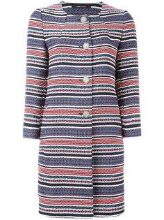 полосатое пальто Tagliatore