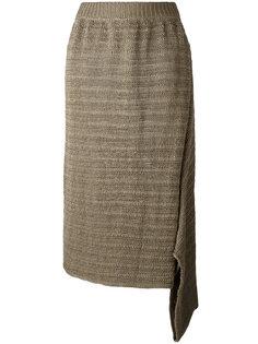 юбка с асимметричной деталью Stella McCartney