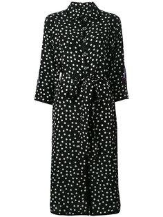 платье-рубашка в горошек Dolce & Gabbana