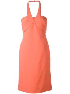 платье с V-образным вырезом Antonio Berardi