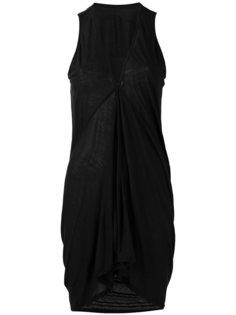 платье-топ с V-образным вырезом Rick Owens DRKSHDW