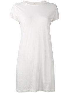 платье-футболка  Rick Owens DRKSHDW