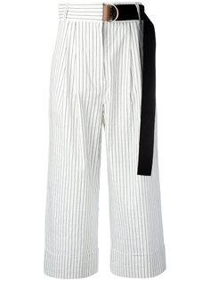легкие укороченные брюки Tibi