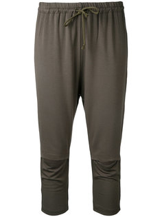 брюки с вырезными деталями Undercover