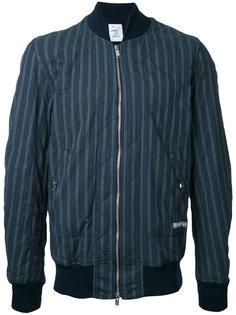 полосатая куртка-бомбер  Undercover