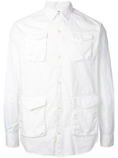 рубашка с карманами на пуговицах Undercover