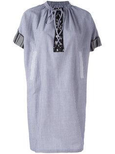 платье шифт в полоску JW Anderson