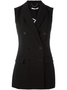 двубортный блейзер без рукавов Givenchy
