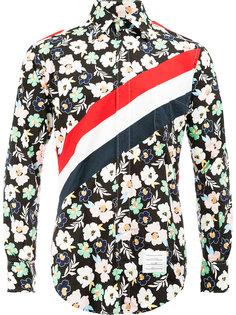рубашка с цветочным принтом Thom Browne