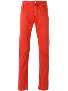 прямые брюки Jacob Cohen