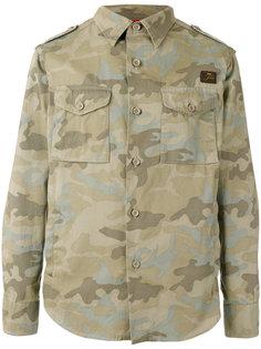 куртка с камуфляжным рисунком Fay