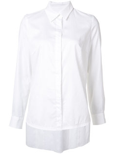 рубашка с асимметричными складкми Jonathan Cohen