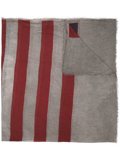 шарф с принтом в звезды и полоски John Varvatos