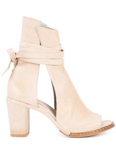 ботинки с вырезными деталями Measponte