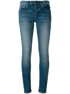 джинсы скинни Saint Laurent