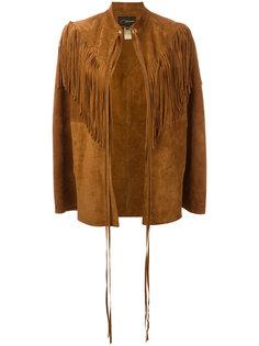 куртка с бахромой Manokhi