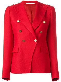 двубортный пиджак с заостренными лацканами Tagliatore