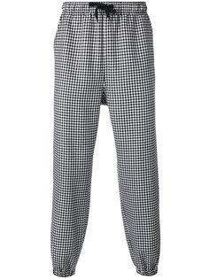 брюки в клетку  Alexander Wang